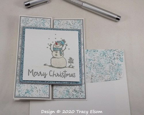 2105 Wink Of Stella Snowman Card