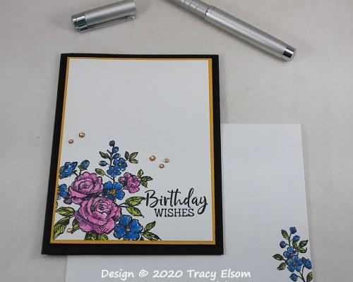 2107 Birthday Wishes Card