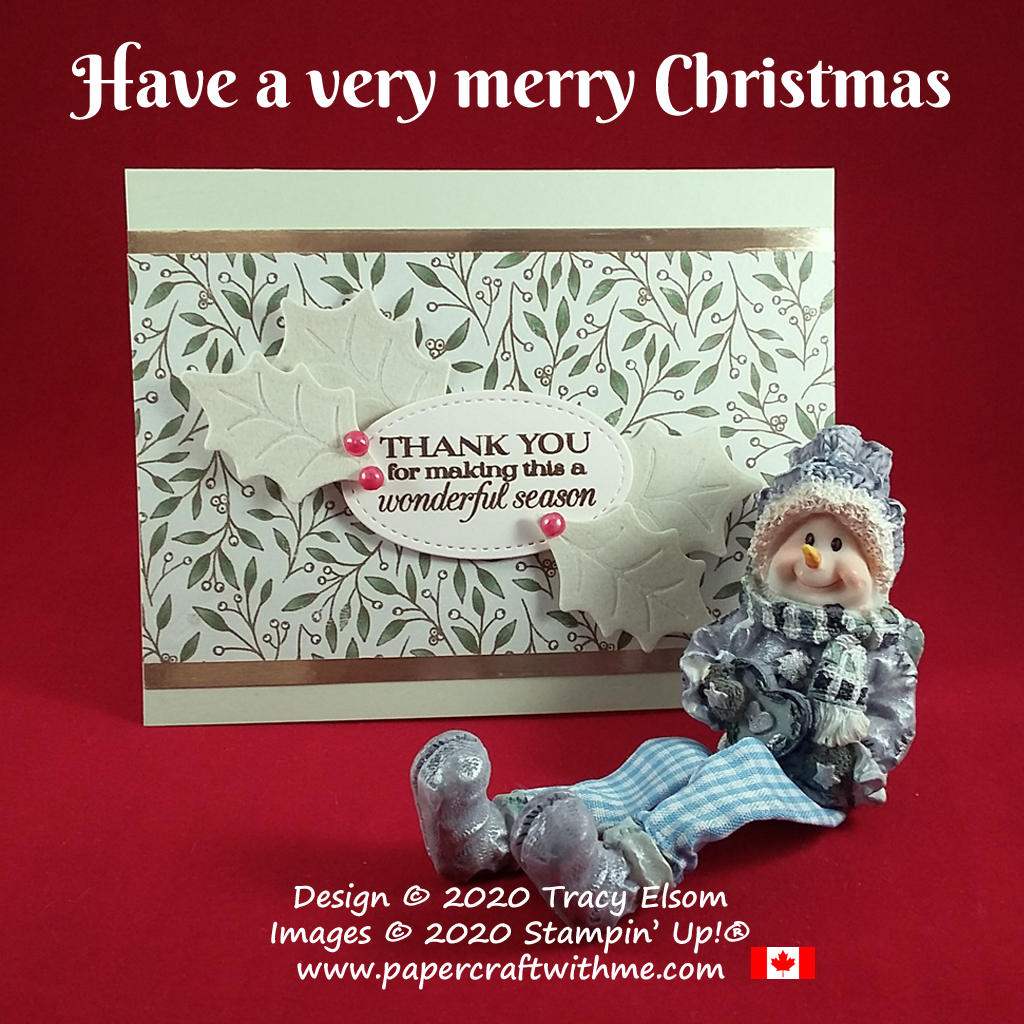 Merry Christmas to all my friends, family, customers, and everyone else who takes time out of their day to support me and my business. #papercraftwithme