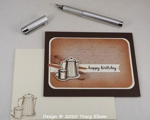 2111 Camp Coffee Birthday Card