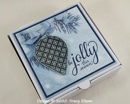 BB76 Jolly Season Mini Pizza Box