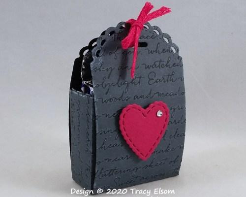 BB77 Scripty Valentine Treat Box