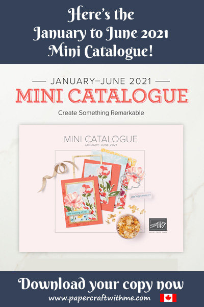 Click here to see the Stampin' Up! January to June 2021 Mini Catalogue