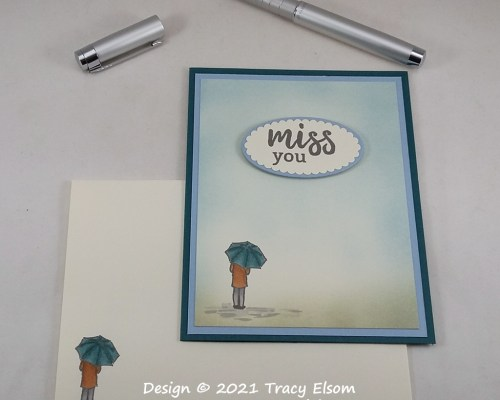 2117 Miss You Card