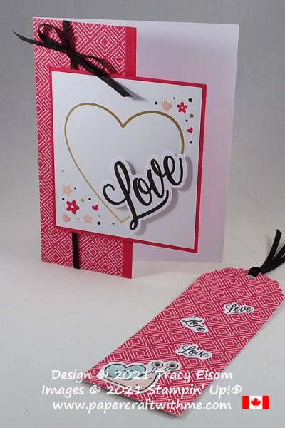 "Alternate project ideas created using the January 2021 Paper Pumpkin kit ""Sending Hearts"" from Stampin' Up! #papercraftwithme"