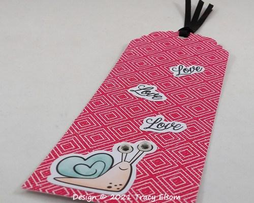 BM332 Love Love Love Bookmark