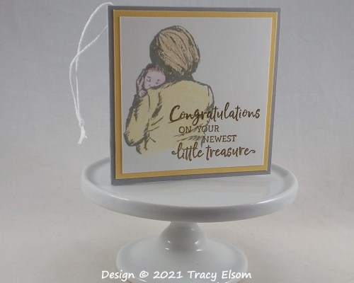 Newest Little Treasure Baby Gift Tag