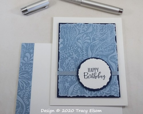 2065 Seabed Birthday Card