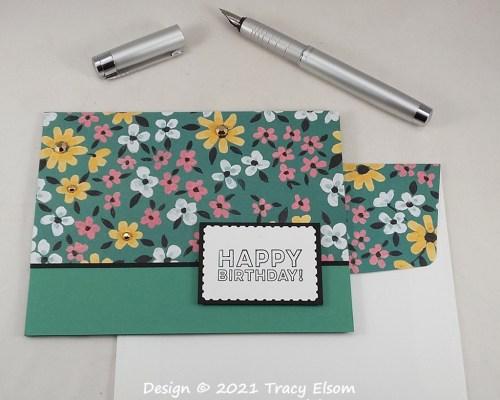2164 Flower & Field Birthday Card