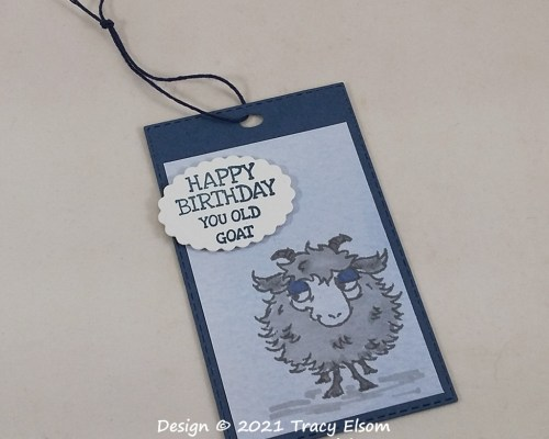Happy Birthday You Old Goat Gift Tag