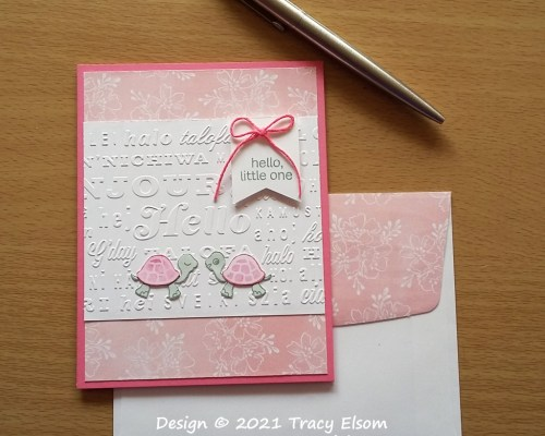2200 Hello Little One Baby Card