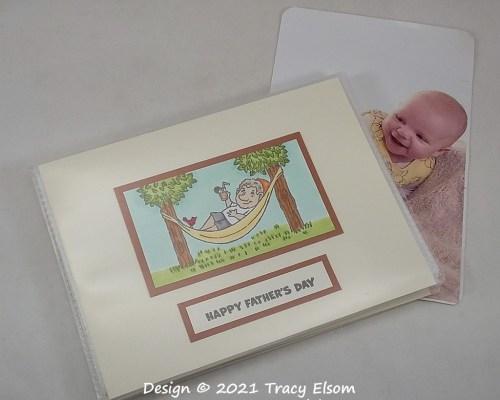 P157 Happy Fathers Day Pocket Photo Album