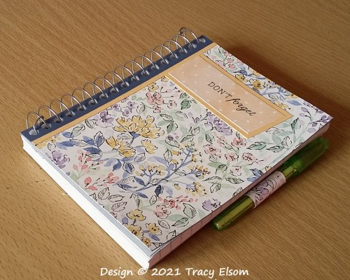 P160 Hand-Penned Don't Forget Notebook