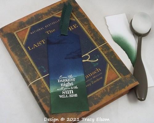 BM351 The Darkest Night Bookmark
