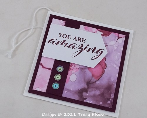 You Are Amazing Gift Tag
