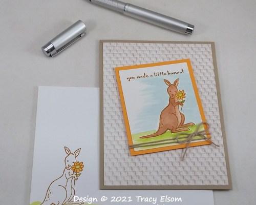 2233 You Made A Little Human! Card