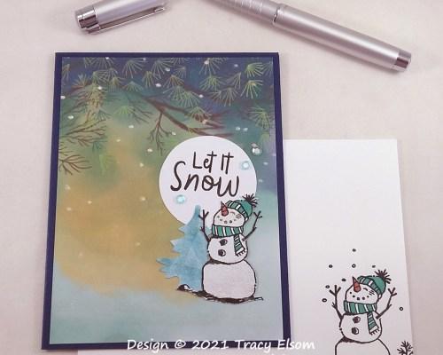 2251 Let It Snow (Snowman Season) Card