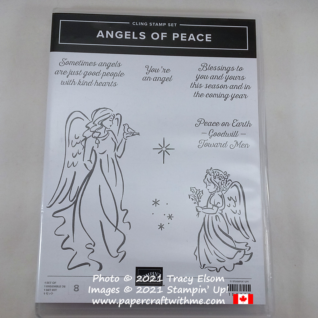 Angels of Peace Stamp Set from Stampin' Up! #papercraftwithme