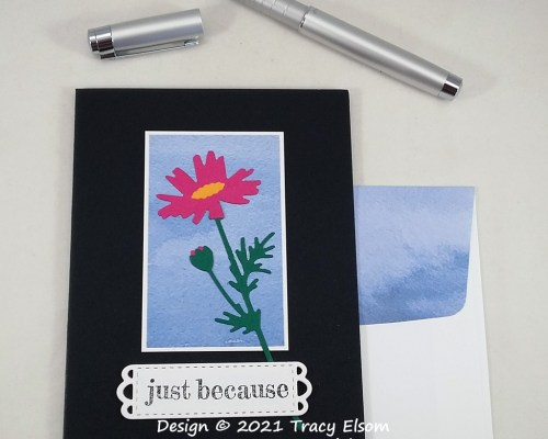 2244 Just Because Meadow Flower Card