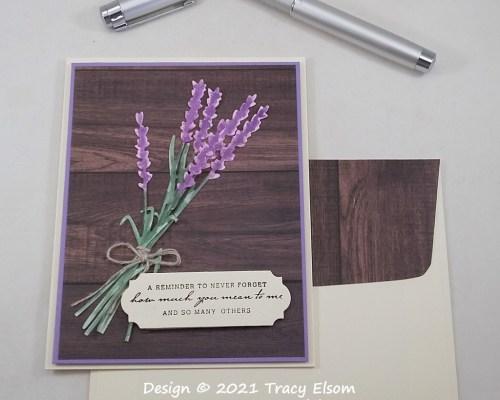 2268 Lavender Reminder Card