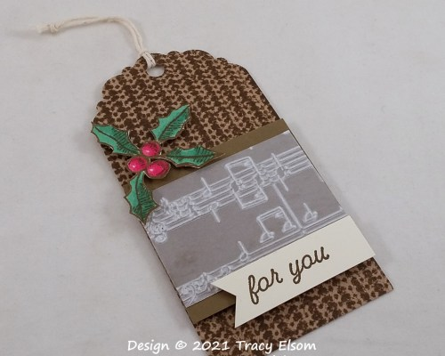 Knit Effect For You Gift Tag