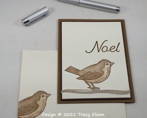 2278 Neutral Noel Christmas Card