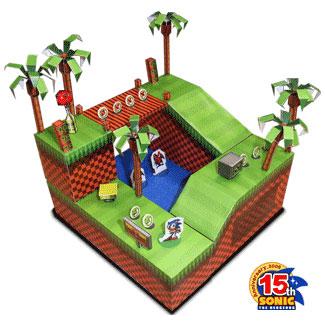 Sonic the Hedgehog Papercraft