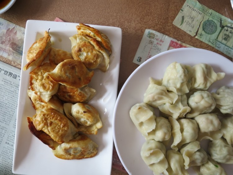 Fried and Boiled Dumplings Mr Shi's, beijing