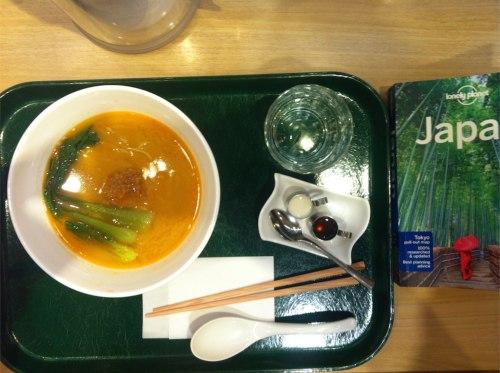 Vegan Ramen in Tokyo Station