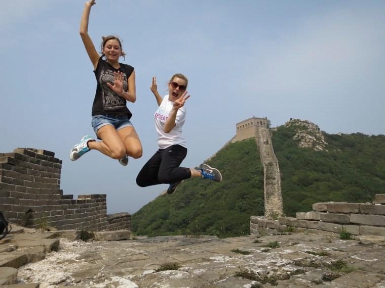 Jumping Great Wall