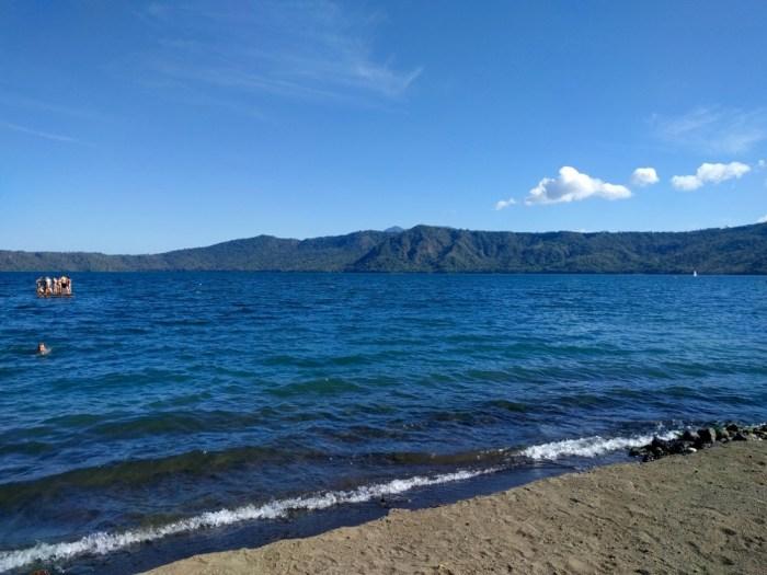 Volcano Lake Nicaragua