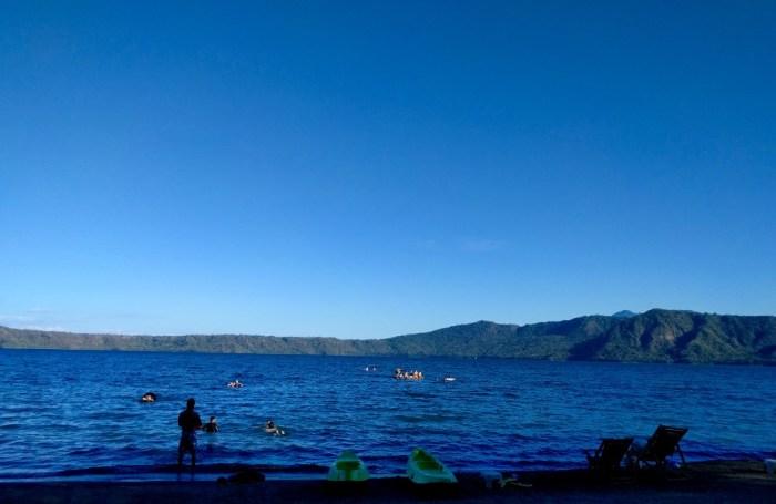 Crater lake Laguna de Apoyo