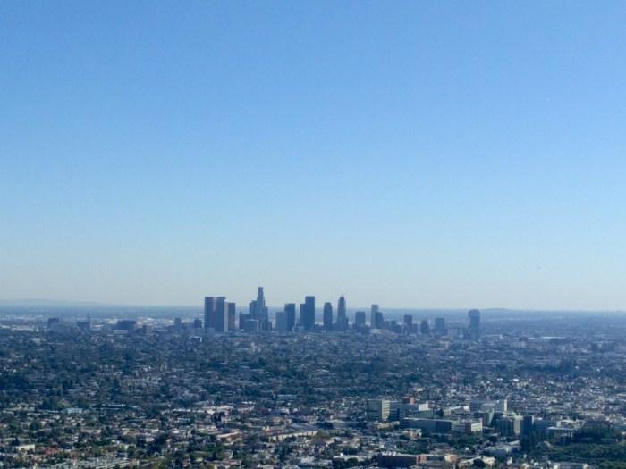 View of LA Griffith park 2