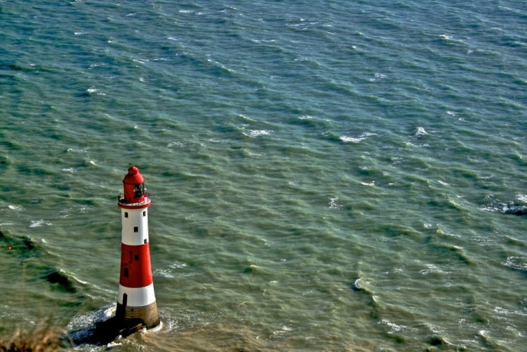 lighthouse at Beachy Head, England