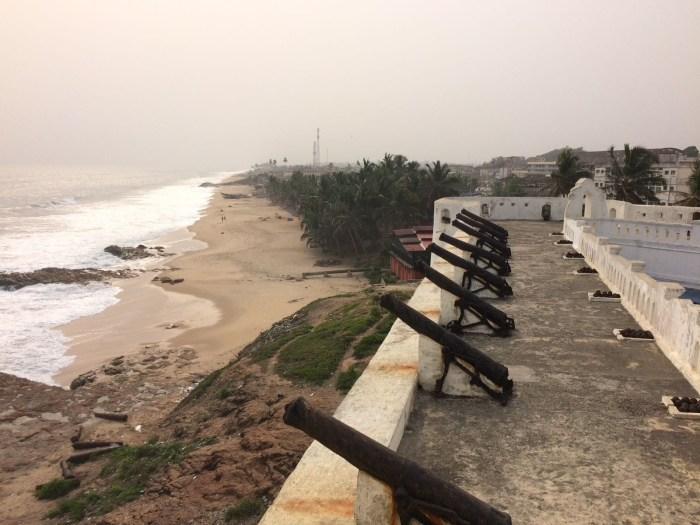 Cape Coast Castle canons Ghana