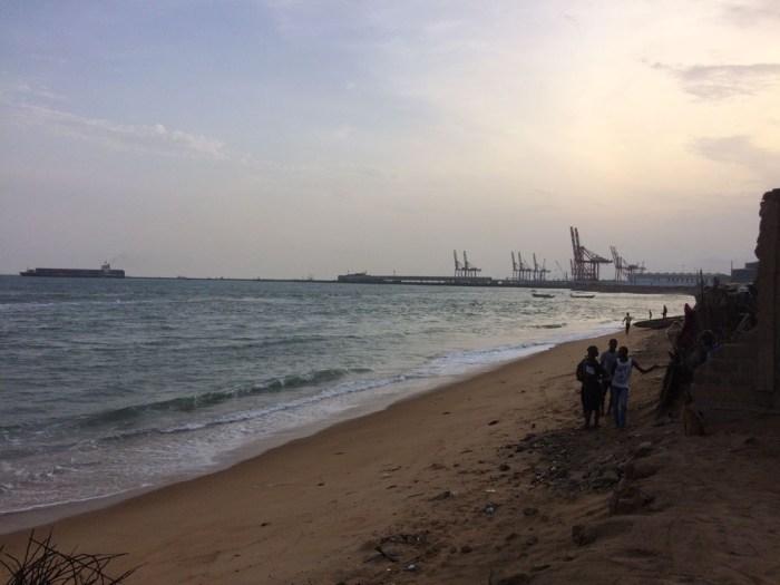 Beach Lomo Togo west africa travel
