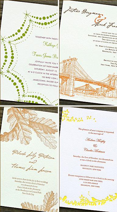 Ps Brooklyn Wedding Invitations Paper