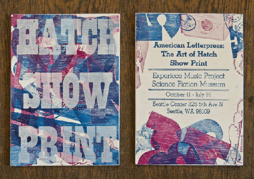 Student Work Jess Riddle S Hatch Show Print Invitations