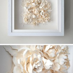 Paper sculptures flowers gardening flower and vegetables colorful paper sculpture flowers gift wedding dresses from the mightylinksfo