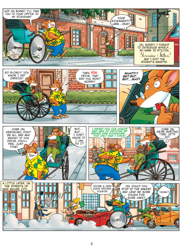 Geronimo Stilton Deutsch