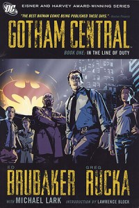 Cover to Gotham Central Book One