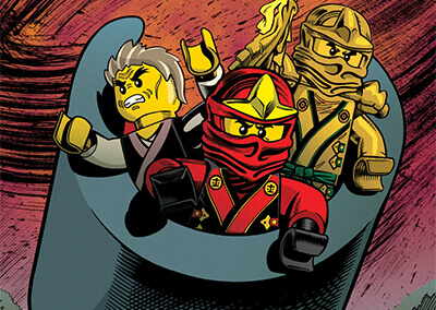 "Lego Ninjago #8 Preview: ""Destiny of Doom"""