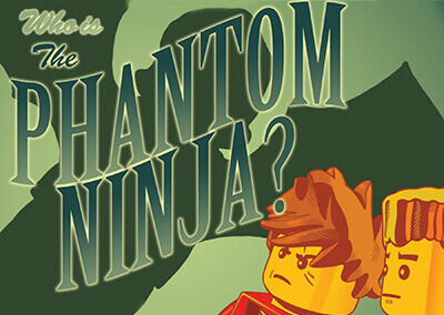"Lego Ninjago #10 Preview: ""Who is the Phantom Ninja?"""
