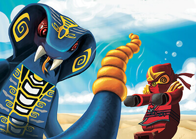"""Lego Ninjago #3 Preview: """"Rise of the Serpentine"""""""