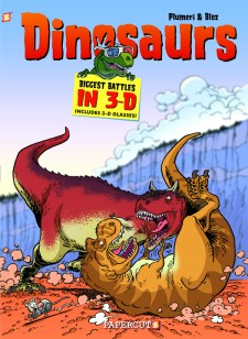 Dinosaurs 3-D Cover