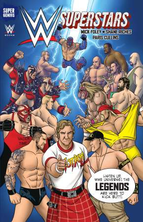 WWE Superstars GN 03 Cover