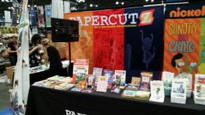 Papercutz_NYCC_Booth_1