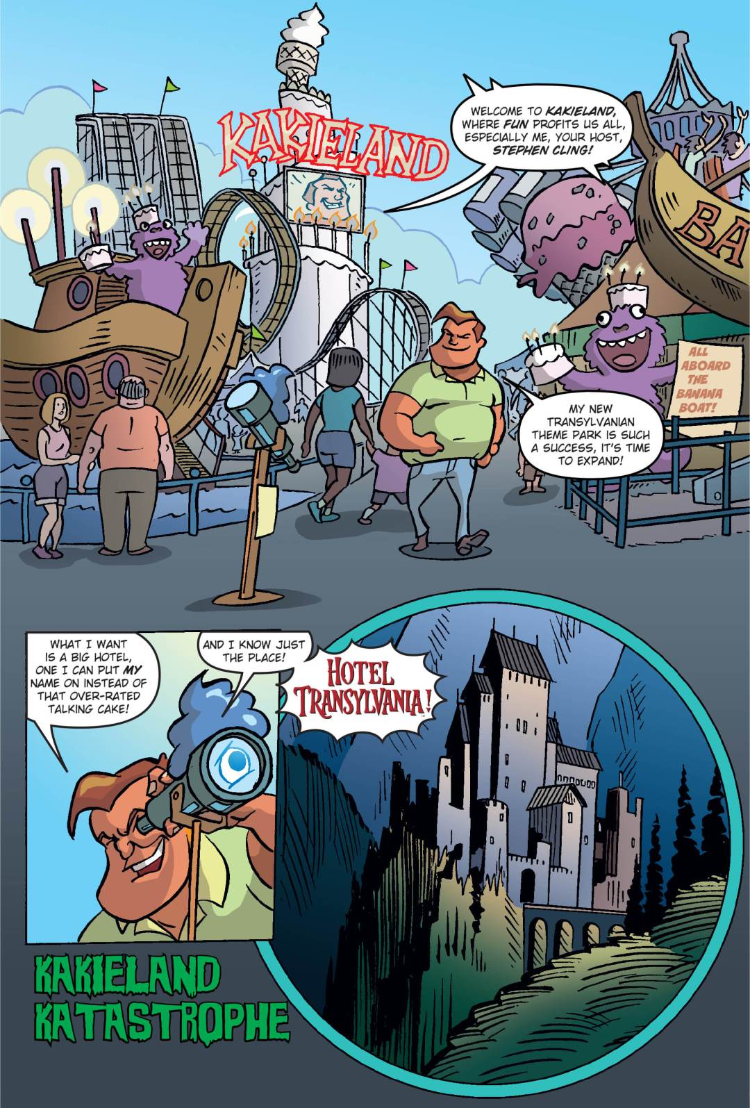Hotel Transylvania Preview Page 1