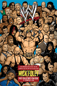 WWE #1 cover by Adriano Moraes and JayJay Jackson (artwork not final).