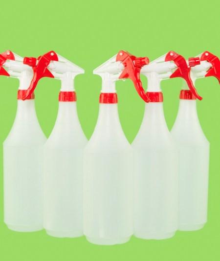 32 Oz Clear Bottle